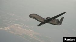 ຍົນ RQ-4 Global Hawk ຊຶ່ງເປັນເຮືອບິນບໍ່ມີຄົນຂັບ ທີ່ກ້າວໜ້າທັນສະໄໝ ຂອງສະຫະລັດ