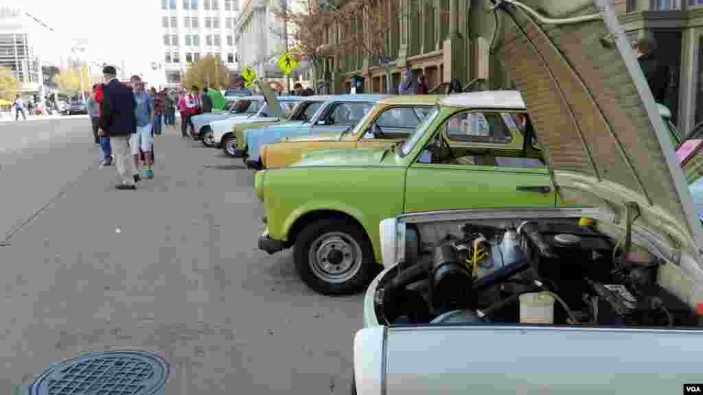 Шестой ежегодный парад «Трабантов» в Вашингтоне