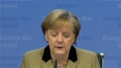 Assorted Video Footage From European Union Summit in Brussels