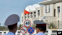 VOA China 360: What's Behind Talk of Uighur Role in Bishkek Chinese Embassy Bombing
