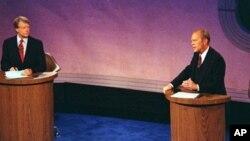 Debata izmedju predsjednika Geralda Forda i demokratskog kandidata Jimmyja Cartera, 23. rujan 1976.