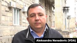Politički analitičar Dragomir Anđelković (Foto: VOA)