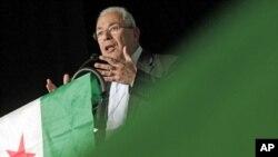 Suriya Milli Şurasının lideri Burhan Qaliun