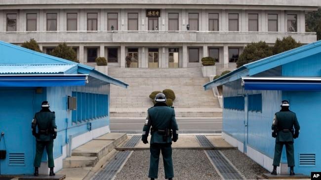 韩军方透露一朝鲜士兵叛逃至韩国