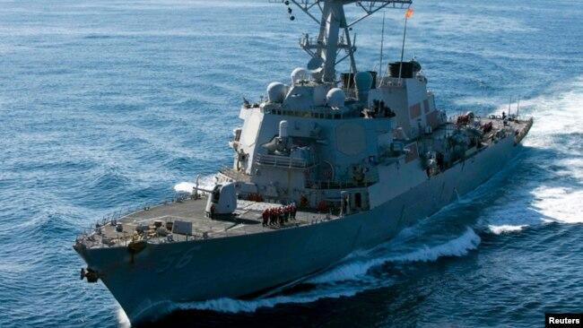 """USS John S. McCain được coi là """"di sản"""" của gia đình thượng nghị sĩ John McCain."""