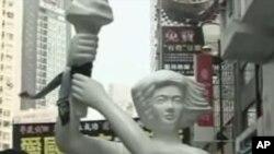 香港民众游行呼吁平反六四