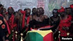 Hidimar gargajiya a shirin jana'izar Kofi Annan