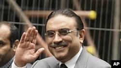巴基斯坦总统扎尔达里(资料照片)