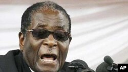 Rais Robert Mugabe wa Zimbabwe