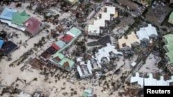 Destruição em Saint Martin