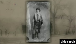Penjahat wilayah Wild West Henry McCarty, dikenal sebagai Billy the Kid