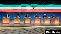 دومین مناظره شش نامزد با موضوع فرهنگ و سیاست بود.