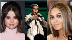 Selena Gomez, Justin Bieber, Beyoncé, são os reis do Instagram no plano musical