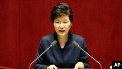 南韓總統朴槿惠。