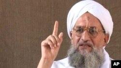 Al-Qaida leader Ayman al-Zawahiri is calling on Egyptian Islamists to choose the path of jihad. Photo: AP/IntelCenter