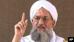 FILE - Al-Qaida leader Ayman al-Zawahiri.