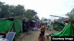 ရခိုင္စစ္ေရွာင္ဒုကၡသည္မ်ား (photo-Rakhine Ethnics Congress)