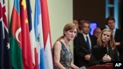 Birleşmiş Milletler daimi temsilcisi Samantha Power