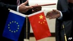 ABD'nin çekilme sinyalleri verdiği Paris Anlaşması, Brüksel'de bir zirvede bir araya gelecek Avrupa Birliği ve Çin'in en önemli gündem maddeleri arasında yer alacak