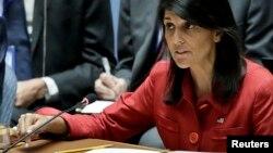 Bà Nikki Haley tuần trước thúc ép Cơ quan Nguyên tử Năng Quốc tế (IAEA) tìm cách tiếp cận các căn cứ quân sự của Iran.