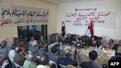 Các thành viên phe đối lập Syria họp ở Halboun, gần thủ đô Damascus