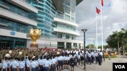香港主权回归人心仍未归(资料图片)