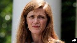 Senat AS mengukuhkan Samantha Power (43 tahun) menjadi duta besar Amerika untuk PBB (foto; dok).