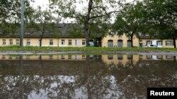 Lokasi bekas kamp konsentrasi Dachau Nazi di Dachau, Jerman (foto: ilustrasi).