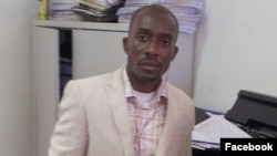 Miguel Quimbenze, membro do Movimento Estudantes Angolanos (MEA)