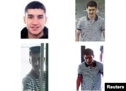 Bốn trong số những nghi phạm tham gia vào vụ tấn công ở Barcelona