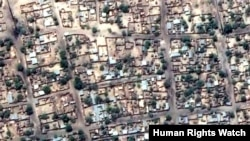 Satellite Images of Damage in Baga, Nigeria