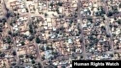 Satellite Images of Damage in Baga, Nigeria