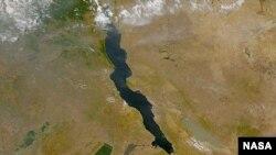 Lake Tanganyika Image from NASA's SeaWIFs project