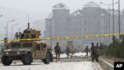 کشته شدن دو سرباز برتانوی در کابل