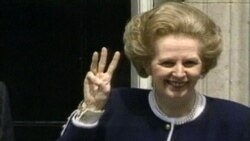 Скончалась Маргарет Тэтчер