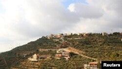 Desa Ain Qana, di dekat pelabuhan Sidon, LEbanon, 22 September 2020.