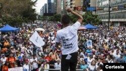 La defensa de López apeló la semana pasada la decisión de llevarlo a juicio por expresar sus ideas políticas