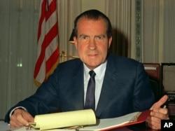 Ričard Nikson u Beloj kući, 1969. godine