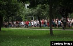 Banjalučki šetači, 24.06.2012., Banja Luka (Foto: Inicijativa 'Spasimo Picin park)