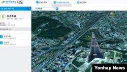 한국 통일부가 북한 정보를 국민에게 제공하는 인터넷 사이트 '북한정보포털(http://nkinfo.unikorea.go.kr)'을 27일 일반에 공개한다. 사진은 이 사이트가 제공하는 북한 지도. 이 지도는 평양의 류경호텔 같은 유명 장소를 검색해 2차원과 3차원 영상으로 볼 수 있을 뿐만 아니라 '사회기반시설', '문화재', '축산업 시설' 등으로 검색하면 북한 전역의 등록된 관련 장소를 한눈에 보여준다.