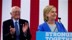 Clinton ကို ဒီမိုကရက္သမၼတေလာင္းအျဖစ္ Sanders ေထာက္ခံ