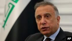 17 Ağustos 2020 - Bağdat / Irak Başbakanı Mustafa El-Kazımi