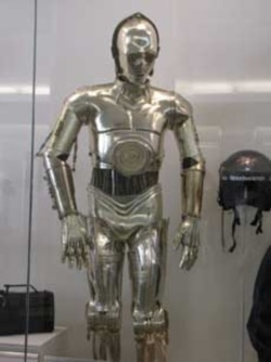 C-3PO is among the most famous of all science-fiction robots