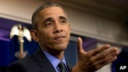 El presidente Barack Obama almorzará con el presidente de la Cámara de Representantes, Paul Ryan, en la Casa Blanca, el martes, 2 de febrero de 2016.