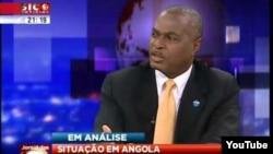 Capture d'écran d'une émission sur la chaîne portugaise SIC Noticias.