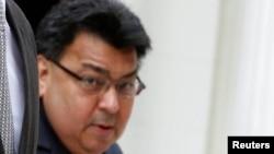 El encargado de negocios de Venezuela en Washington, Calixto Ortega, fue uno de los tres diplomáticos venezolanos declarados personas non gratas por Estados Unidos.