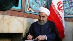 အီရန္ေရြးေကာက္ပဲြ သမၼတ Rouhani တေက်ာ့ျပန္အႏုိင္ရ