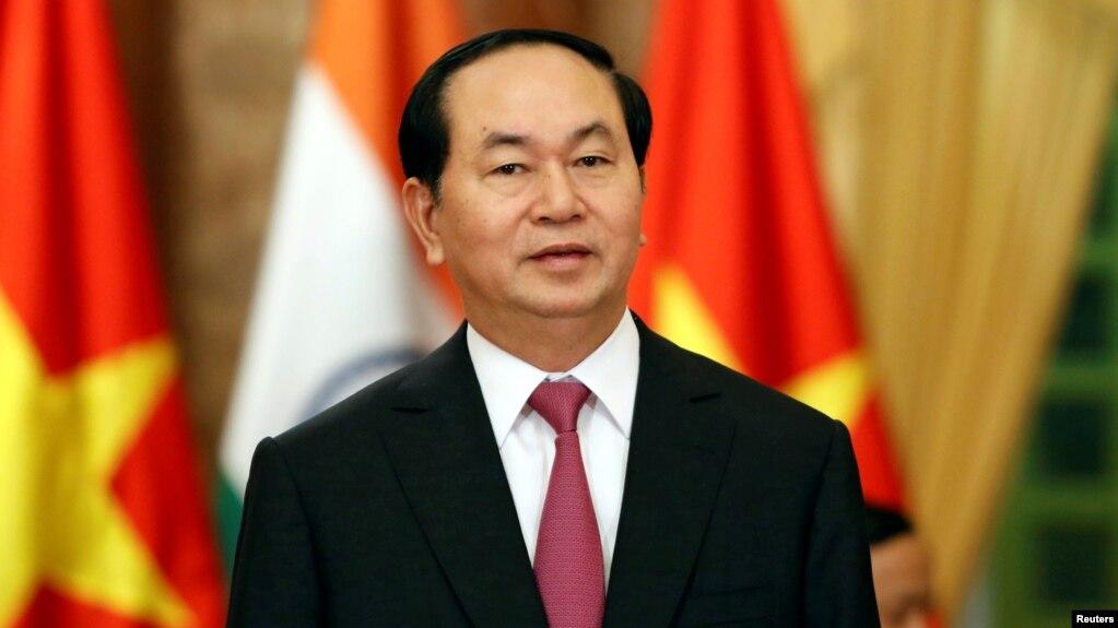 Chủ tịch nước Trần Đại Quang. (Ảnh tư liệu)
