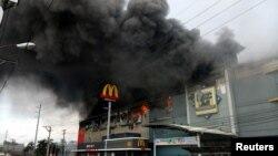 菲律宾南部达沃市商城大火 (2017年12月23日)