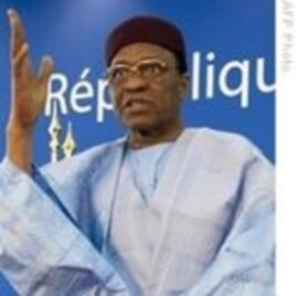 Niger's deposed long time President Mamadou Tandja